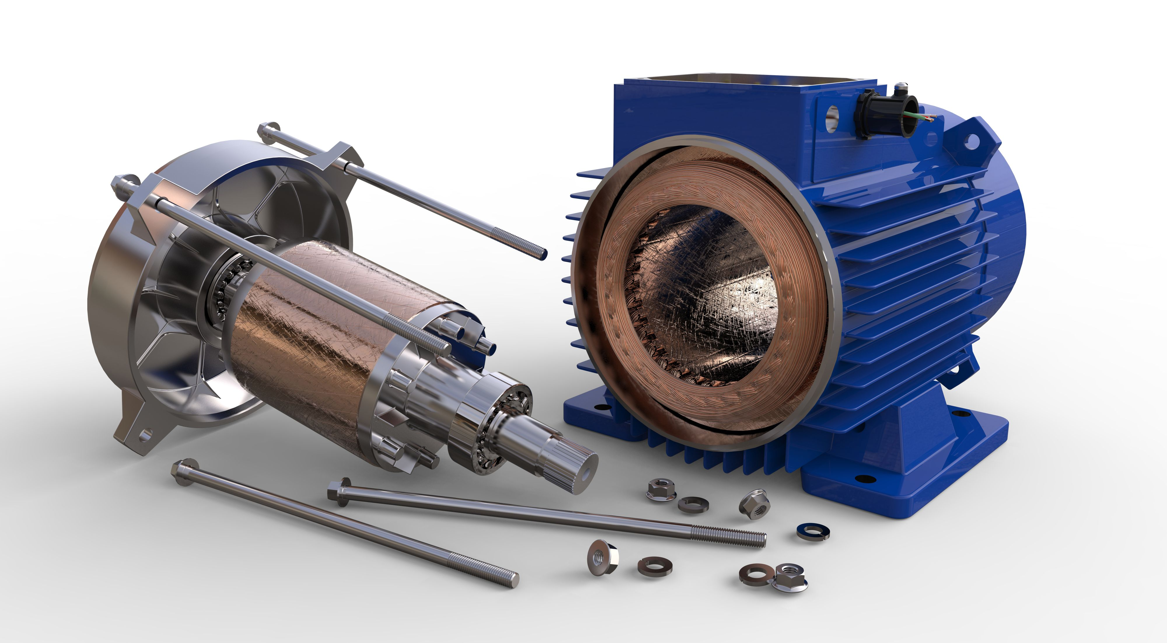 Electric Motors - Supplies & Parts