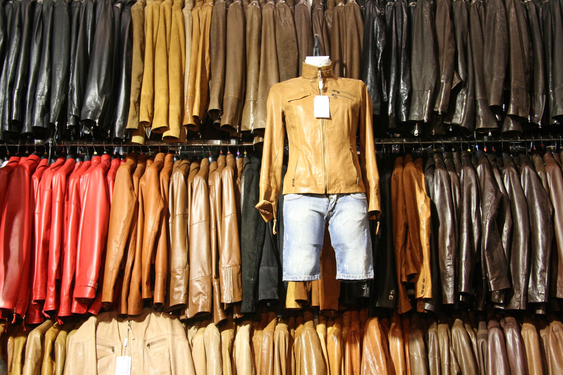 Leather Clothing - Retail