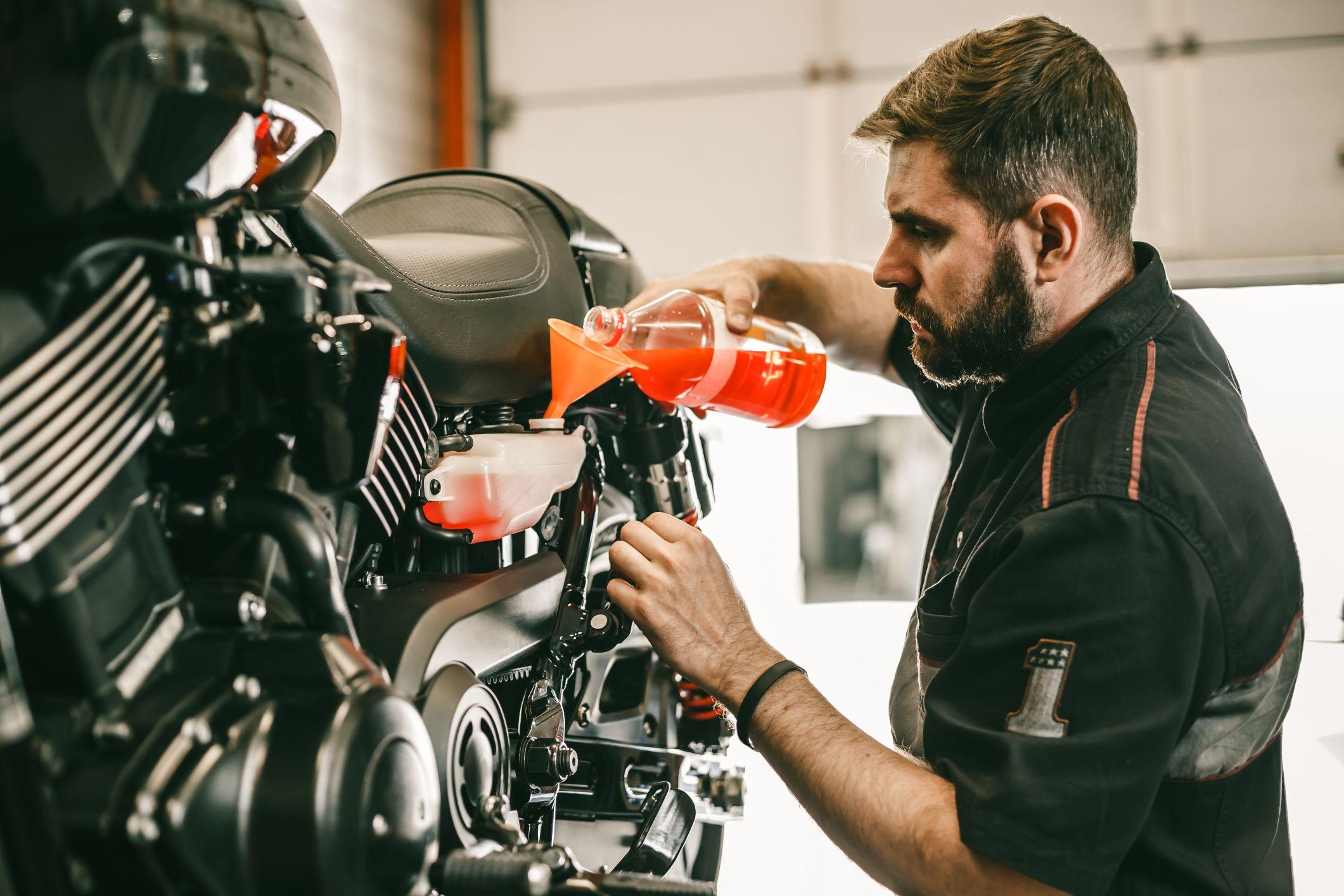 Motorcycles - Repairing & Service