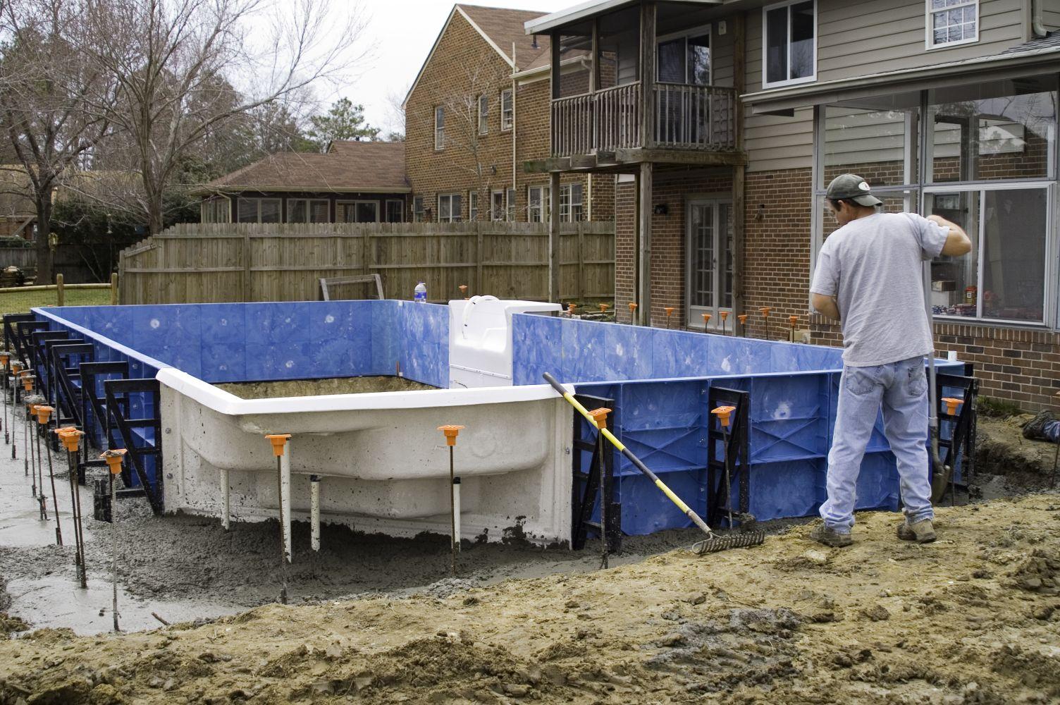 Swimming Pool Contractors, Dealers, Design