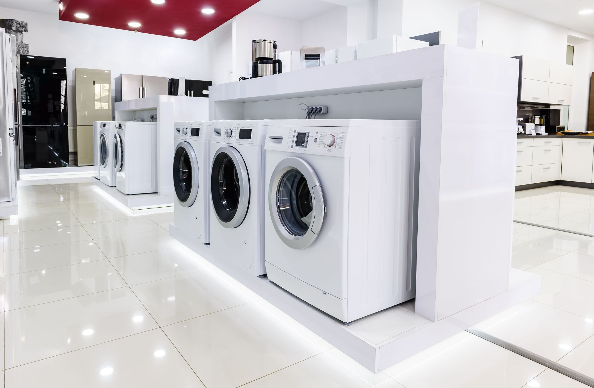 Washing Machines & Dryers - Dealers