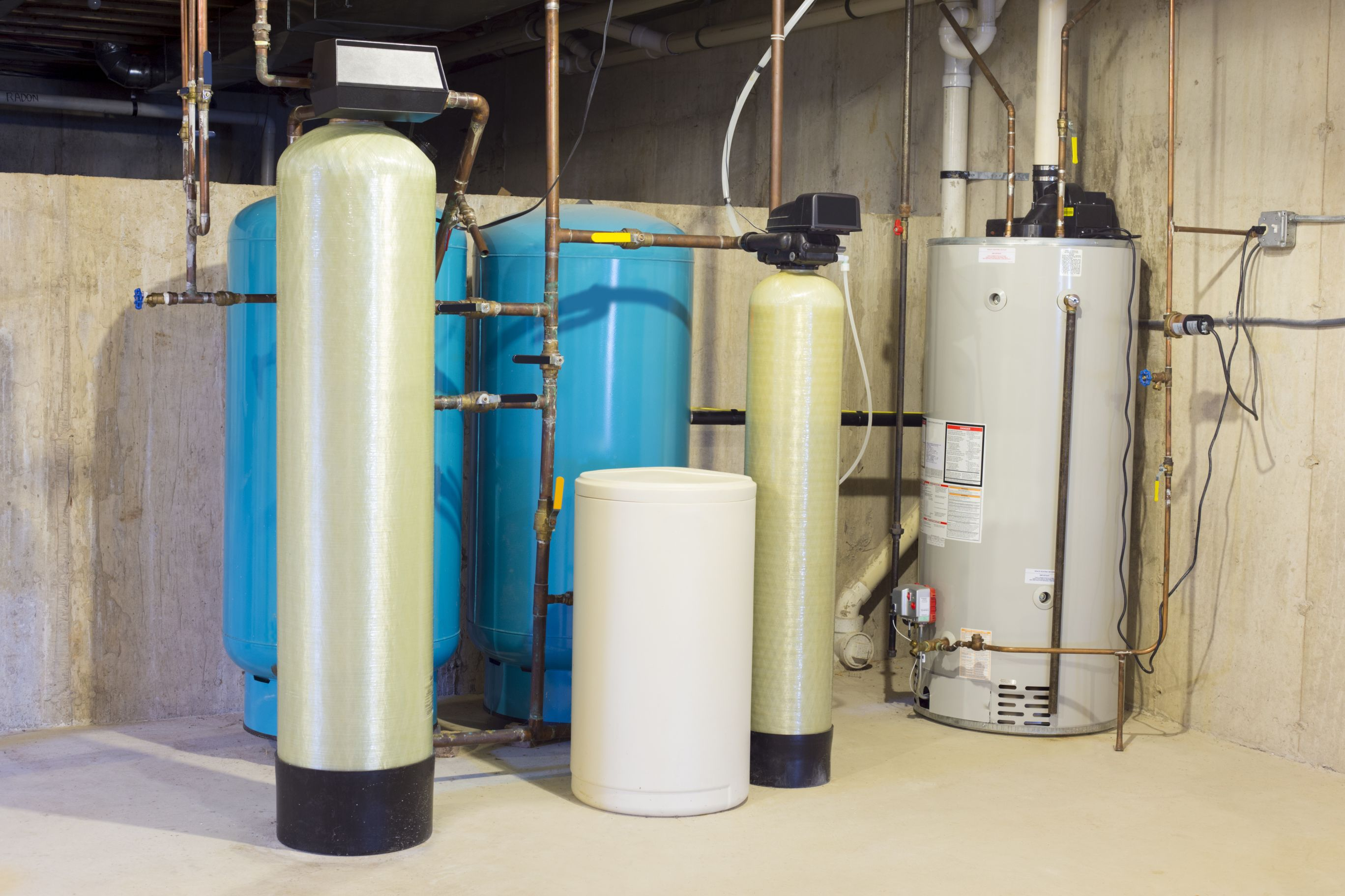 Water Softening & Conditioning Equipment Service & Supplies