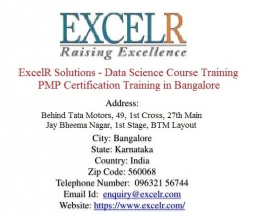 excelrsolutionsdatasciencecoursetrainingpmpcertificationtraininginbangalore